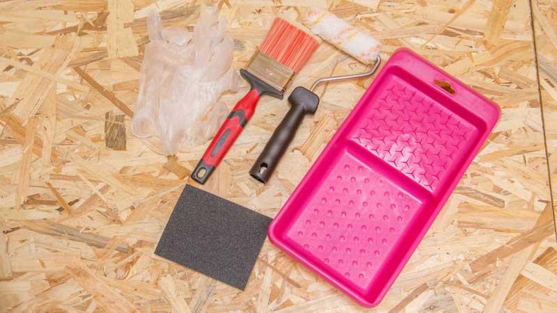 Kit para el tratamiento de maderas