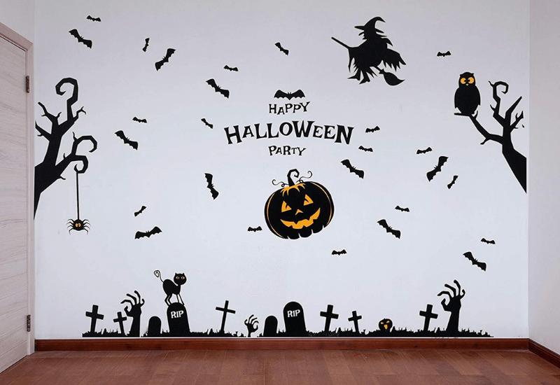 Pegatinas de pared para Halloween
