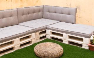 Cómo hacer un sofá de palets