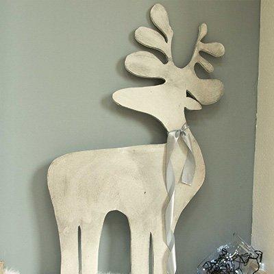 Cómo hacer un reno de madera