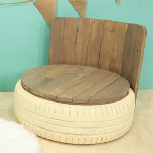 Cómo hacer asiento de madera con respaldo