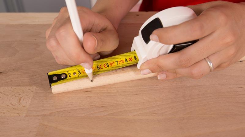 listón redondo de 4 centímetros para la tabla giratoria