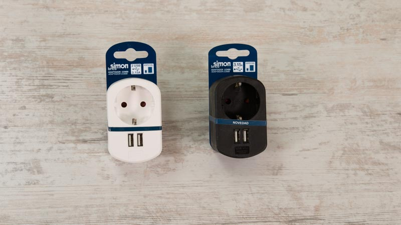 Adaptadores USB de Simon Brico