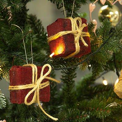 Cómo hacer cajas de regalos para el árbol de Navidad