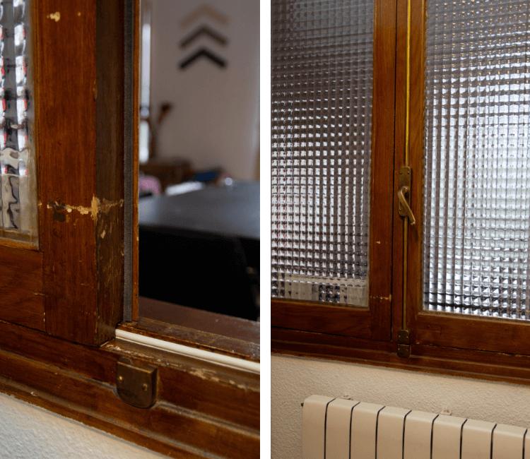 Aislar ventanas del frío con burletes autoadhesivos