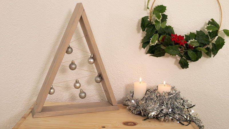 Cómo hacer un árbol de madera minimalista
