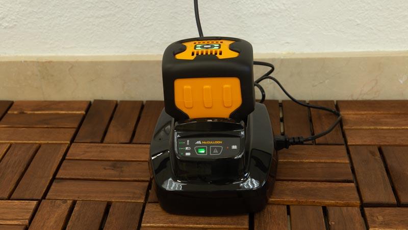 Batería del soplador a batería Li58GB de McCULLOCH