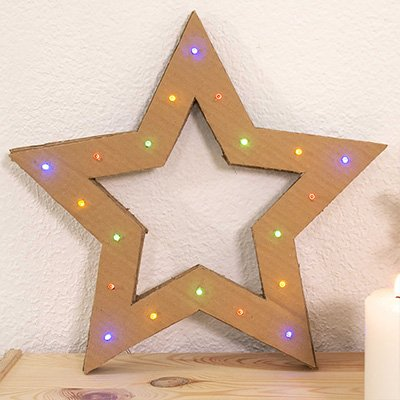 Decorar Estrellas De Navidad En Cartulina.Manualidades De Navidad Tutoriales E Ideas Handfie Diy
