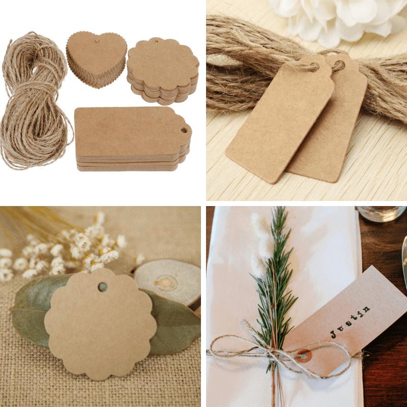 etiquetas para las servilletas para mesa de Navidad