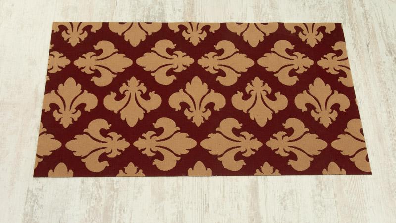 Modelo Flor de Lis de las alfombras naturales de Catral