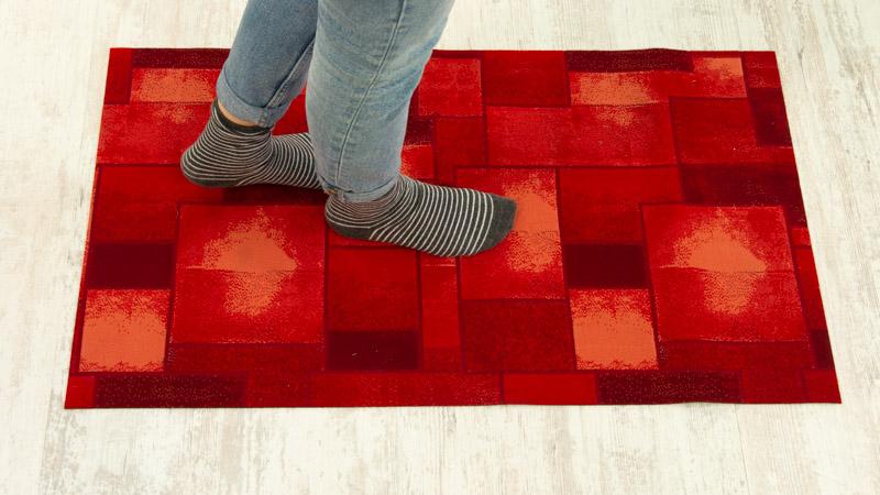 Superficie antideslizantes de las alfombras de Catral
