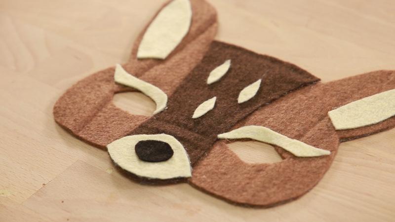 Careta de Bambi con fieltro