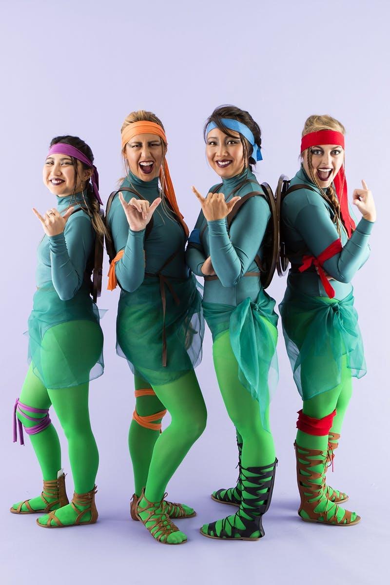 Disfraz de grupo de las Tortugas Ninja