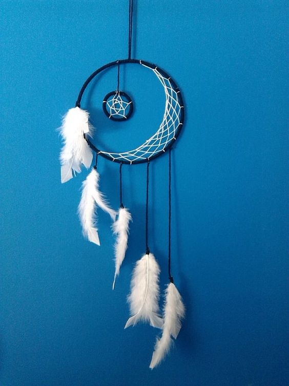 Hacer un atrapasueños con plumas