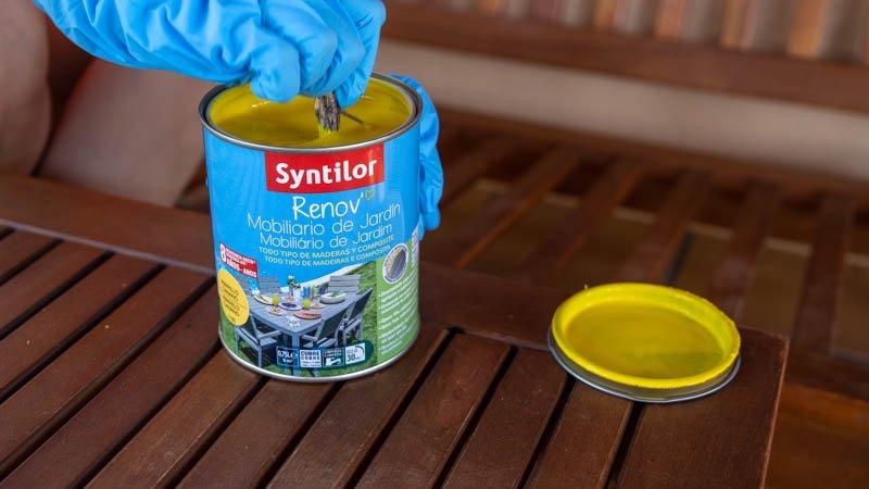 Pintura especial para muebles de jardín Syntilor