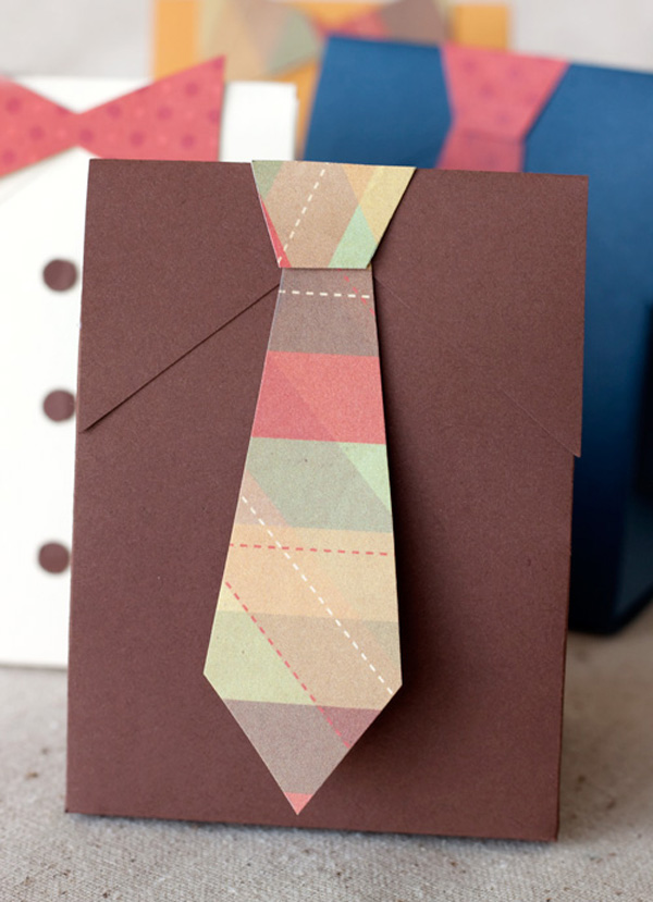Bolsita para regalo con corbata