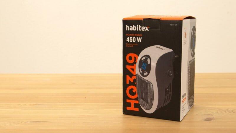 Calefactor cerámico de enchufe Habitex
