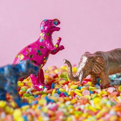 Manualidades con dinosaurios destacada