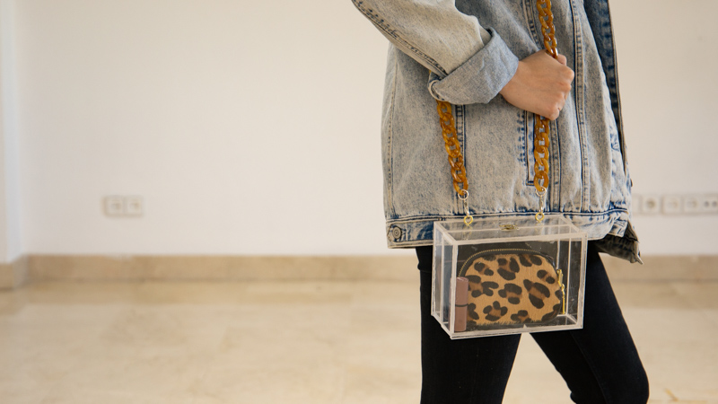Clutch transparente DIY