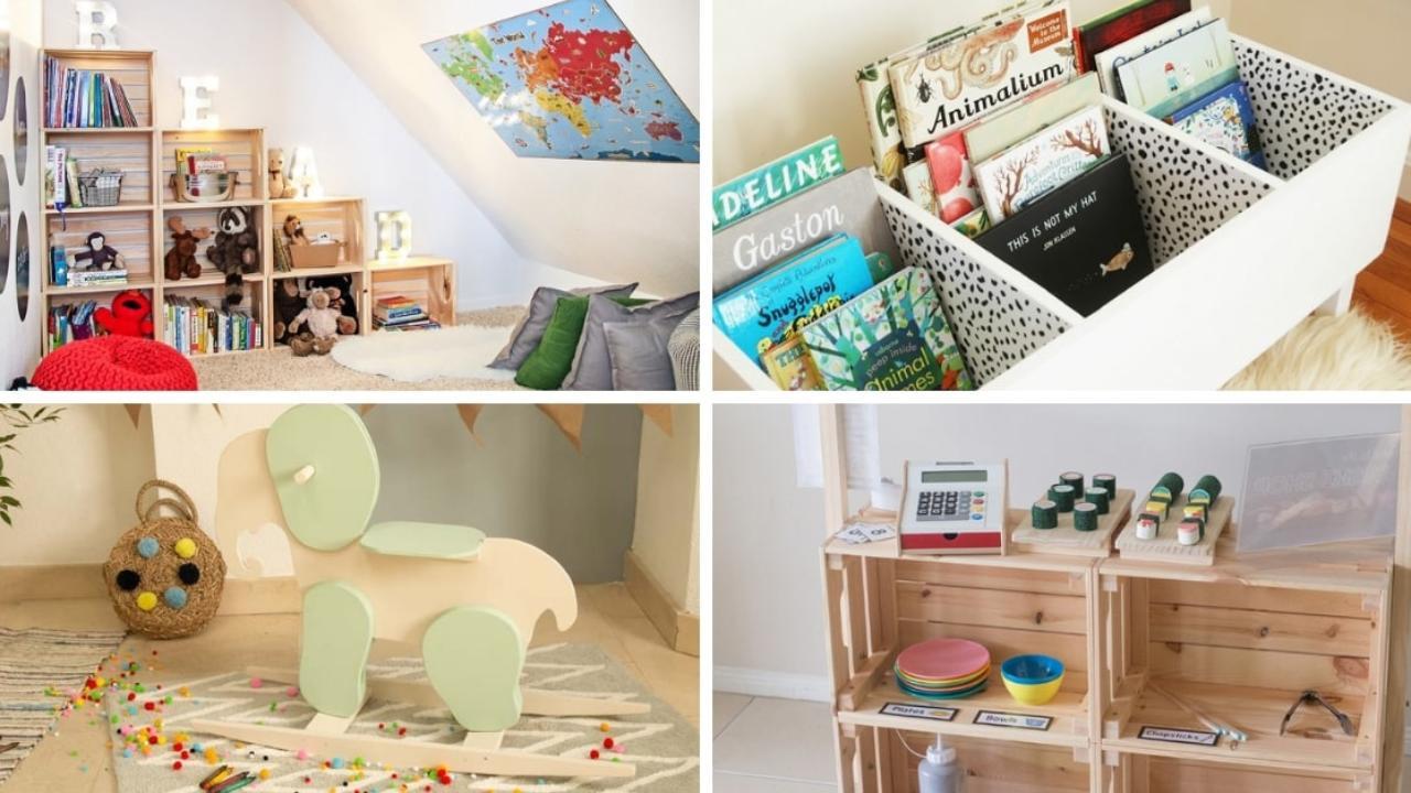 Decoración de habitaciones infantiles: 13 ideas \'low cost\' ⛳ Handfie