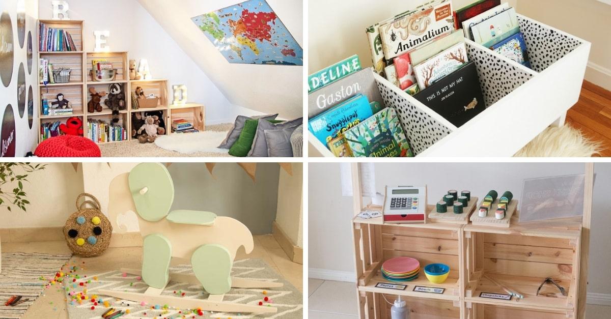 Decoración de habitaciones infantiles: 13 ideas \'low cost ...