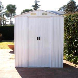 Caseta de jardín metálica Ibiza de Catral