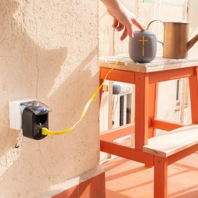Cómo instalar un enchufe de exterior