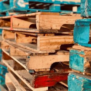 Dónde conseguir palets de madera