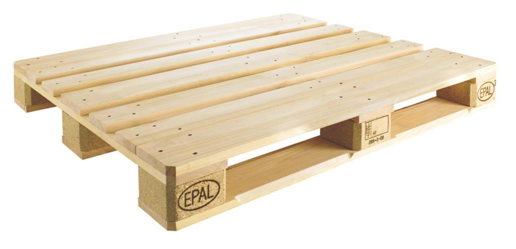 Palet con nomenclatura EPAL