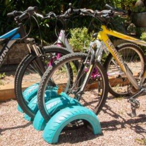 Cómo hacer un parking para bicis