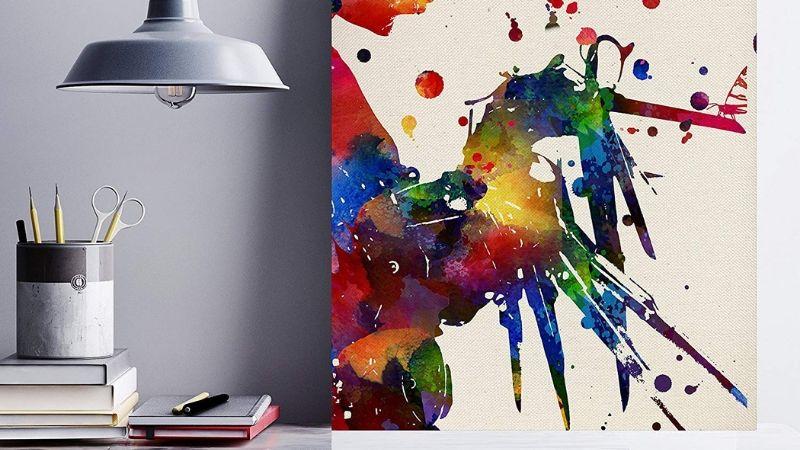 Lámina para enmarcar abstracta