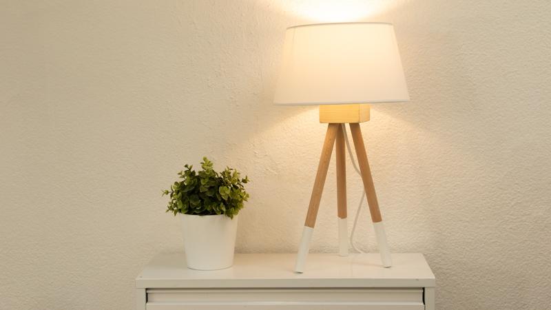 Lámpara nórdica casera