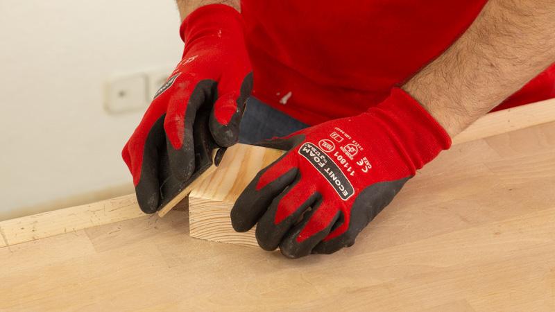 Lijar taco de madera