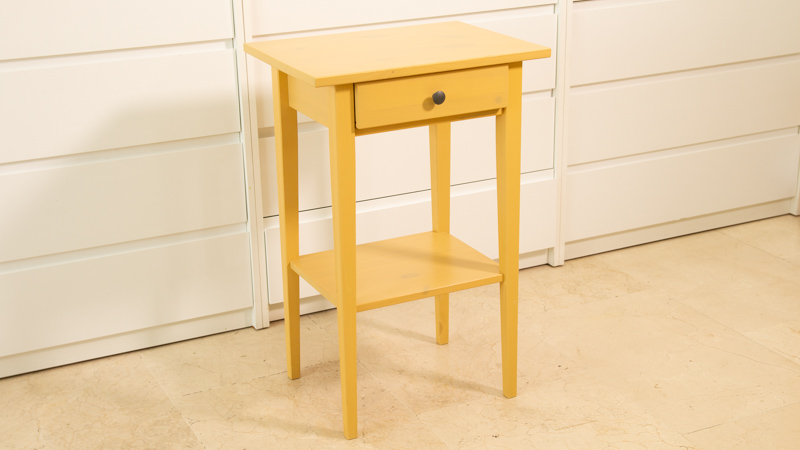 Mesita Hemnes de Ikea