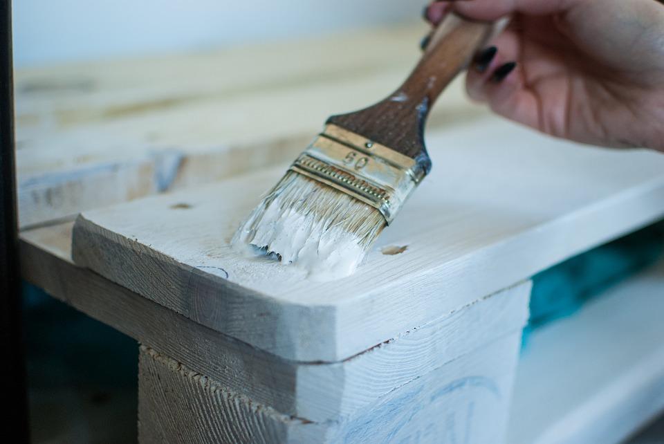 Pintar los palets