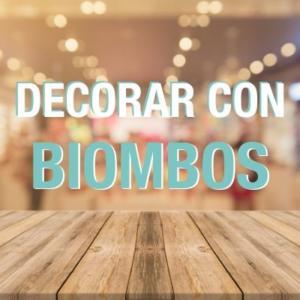 Biombos separadores para decorar