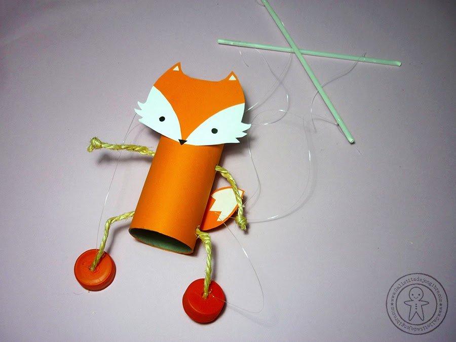 Marioneta reciclada