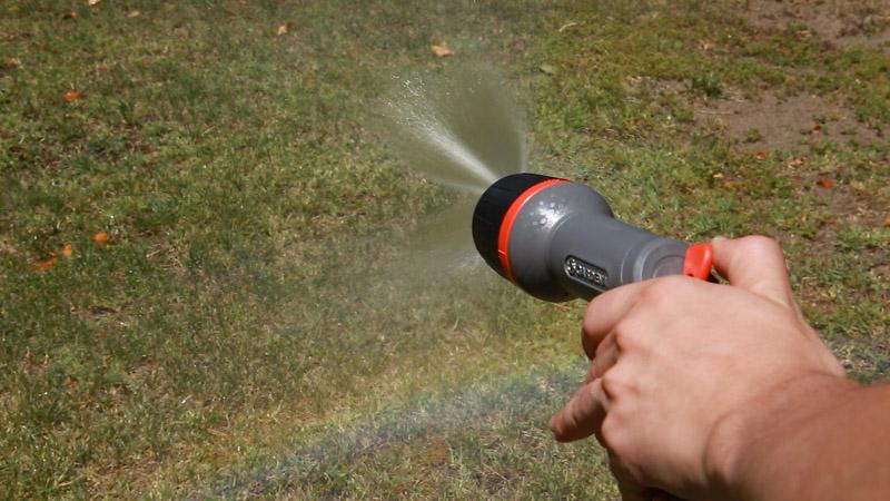 Cambiar el flujo de agua de la pistola ecopulse de Gardena