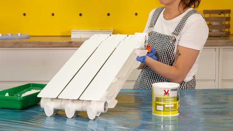 Pintura de radiadores de V33
