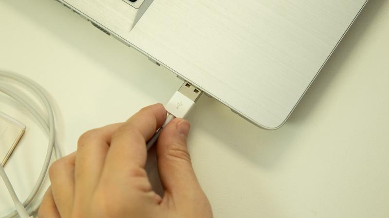 Conexión USB a un ordenador