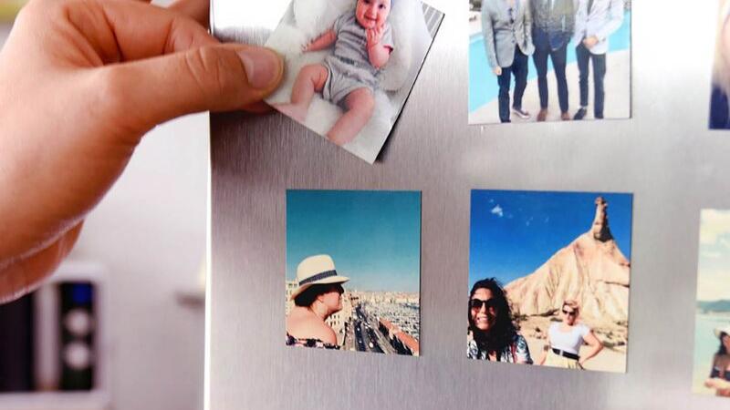 Imanes con fotos DIY