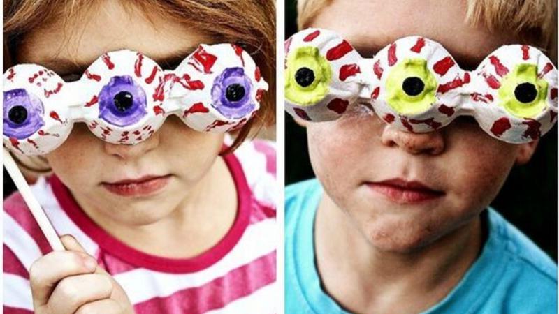 Antifaces de ojos Halloween