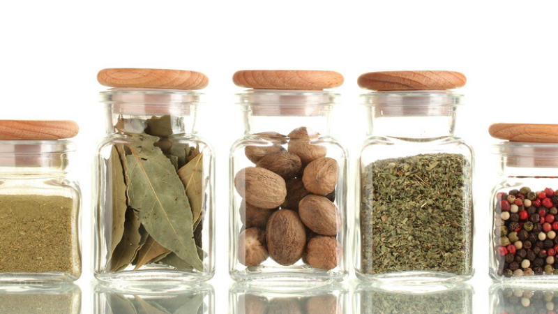 Conservación de alimentos en frascos de cristal