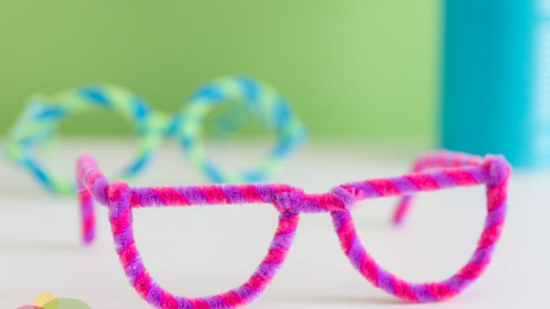 Gafas de juguete manualidad