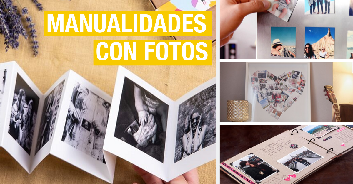 Manualidades Con Fotos 13 Ideas Para Decorar Y Regalar Handfie Diy