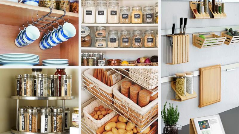 Cómo organizar la cocina con separadores