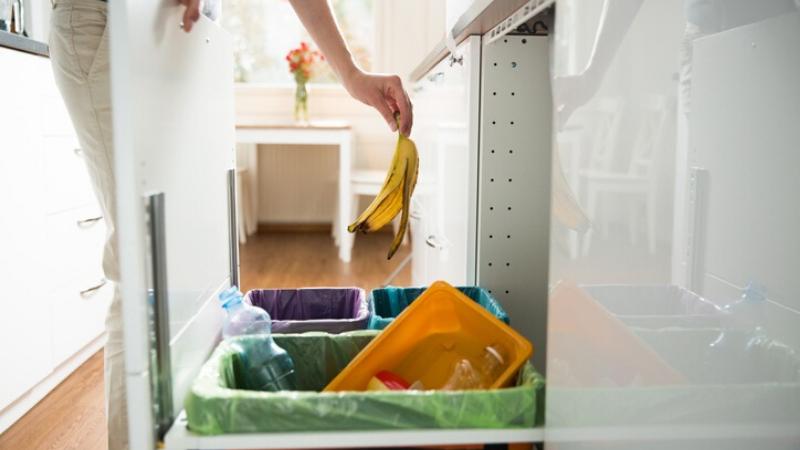 Organización de las basuras en casa