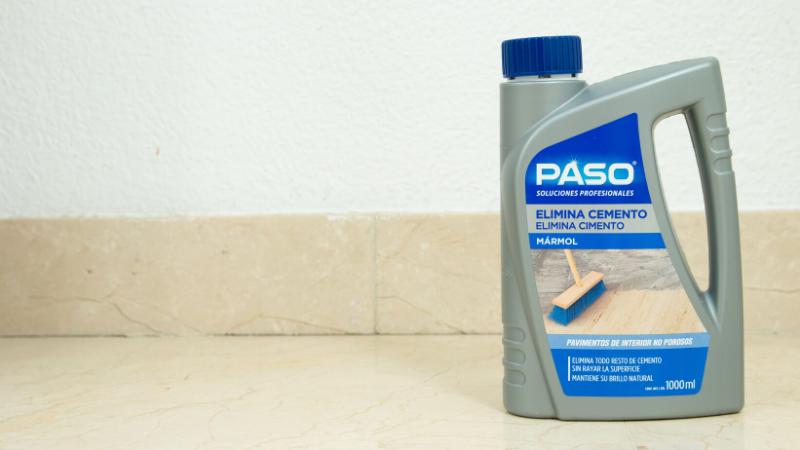 PASO Elimina Cemento