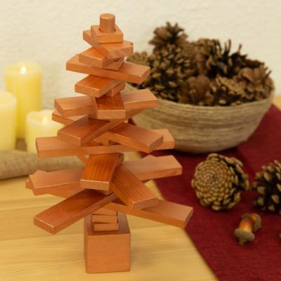 Cómo hacer un árbol de madera giratorio