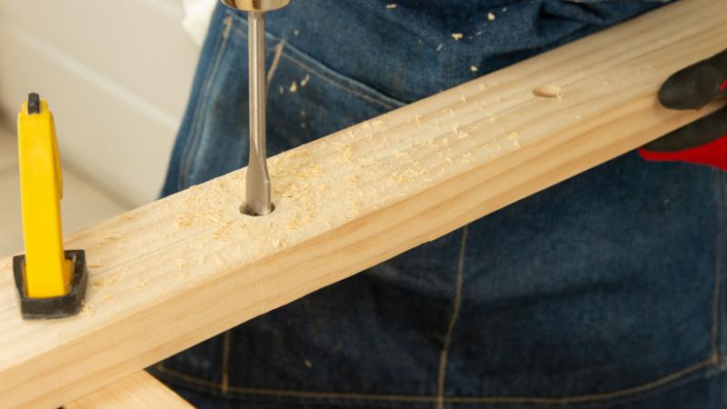 Agujereado de la madera
